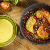 Cacciatore csirke, az olaszok csirkepörköltje