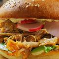 Húsvéti pulled pork szendvics wasabis tormakrémmel