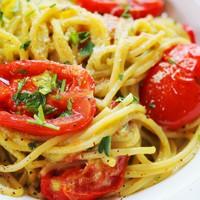 Krémes avokádós spagetti