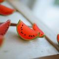 Alap partykaják: mini görögdinnye (!) és mini pizza