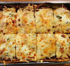 Nacho lasagne