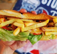 Gatsby szendvics piri-piri csirkével