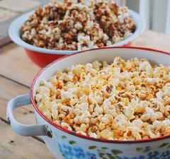 2 brutálfinom popcorn házilag