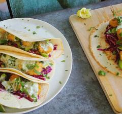 Californiai fish taco - a szörfös csajok kedvence