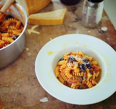 Egylábasos pasta - ha valami igazán egyszerűt akarsz!