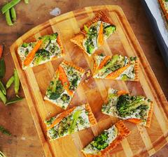 Ricottás zöldséges pite