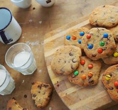 Amerikai csokis cookie 5 lépésben