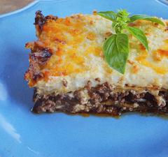 A görög muszaka receptje