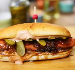 3 király hotdog recept: klasszikus, curry wurst és Seattle dog