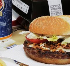Angus XT Bacon Cézár a Burger Kingben!