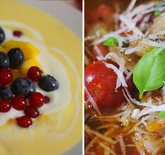 2 nyári leves: jó időre és rossz időre!
