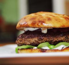 Húsvéti bárányburger