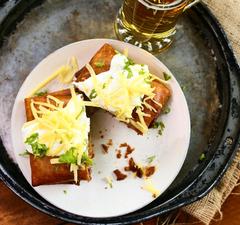 Chimichanga, a zseniális töltött-sütött tortilla