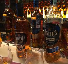 Remek whiskyket szürcsöltünk a Grant's kóstolóján