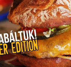 FELZABÁLTUK! Burger Edition.