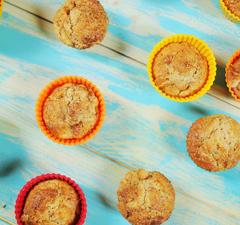 Almás-marcipános muffin