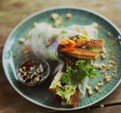 Téli tekercs - ázsiai ízekkel telepakolva