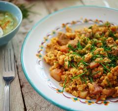 Tarhonyás husi + fűszer-redukció = a mai ebéded