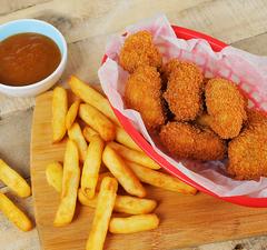 OMG: házi csirke nuggets édes-savanyú szósszal