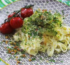 Szupergyors vacsora: cukkinis tészta krémes mascarpone mártással