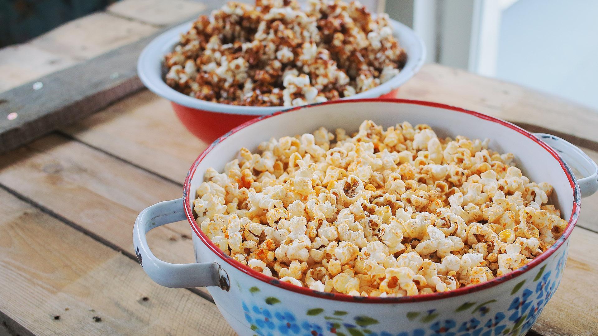 2 brutálfinom házi popcorn filmnézéshez