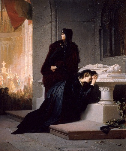 elizabeth_and_mary_of_hungary_at_the_tomb_of_louis_the_great.jpg