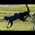Király prank: Tolták a lopott biciklit