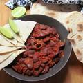 Barna sörös chilis bab birka osso buccóból