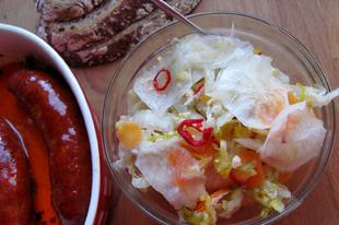 A savanyú káposzta édestestvére: kimchi