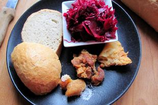 Lila kimchi: egy másik fajta erjesztett, vegyes savanyúság