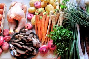 Szombati piaci és erdei bevásárlás
