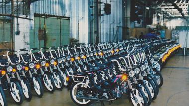 A babetta gyár fénykora