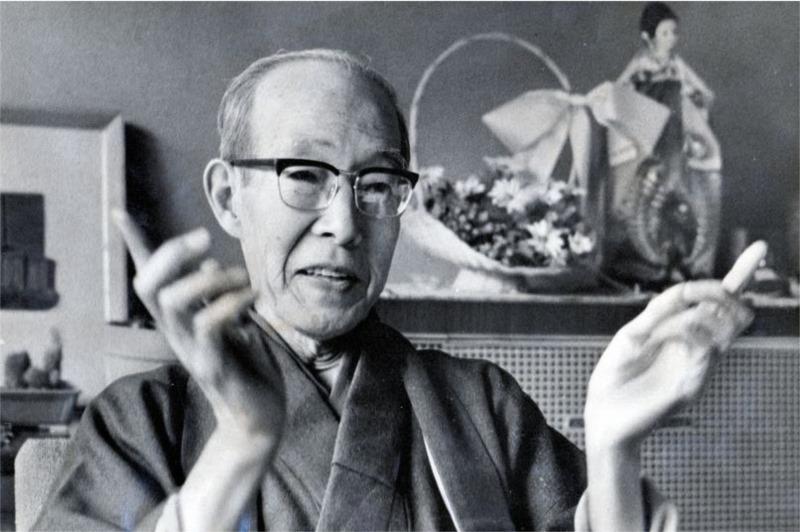 Az idős Jiro Horikoshi.