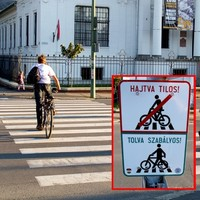 Hány százaléka szabálytisztelő a bicikliseknek Budapesten?