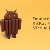 KitKat 4.4 emuláció virtuális gépen