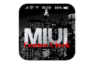 Center Clock Mod MIUI - HU
