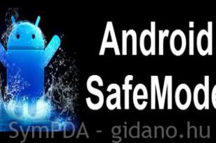 Android indítása csökkentett módban