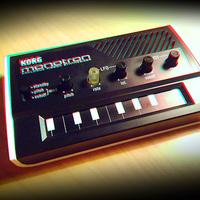 Korg Monotron + Korg MicroSampler = polifónikus Monotron