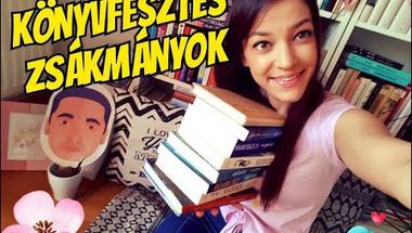 SZABADOS ÁGI | Könyvfesztes BOOK HAUL!!!