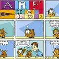 Garfield és Ted