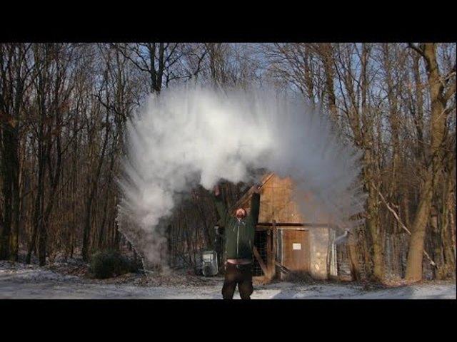 Kísérletek -10°C -on