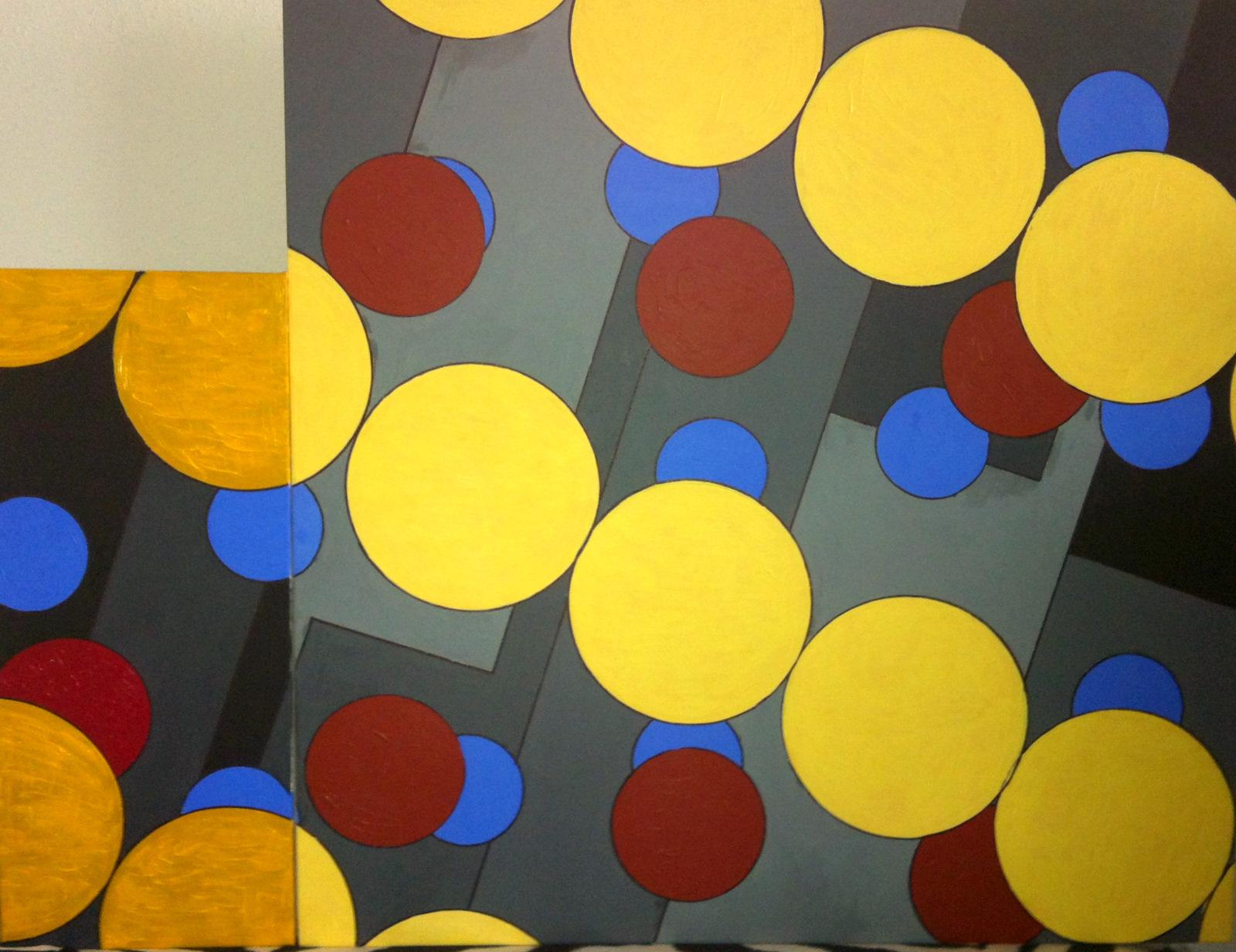 100x100 cm, akril, vászon, 2012