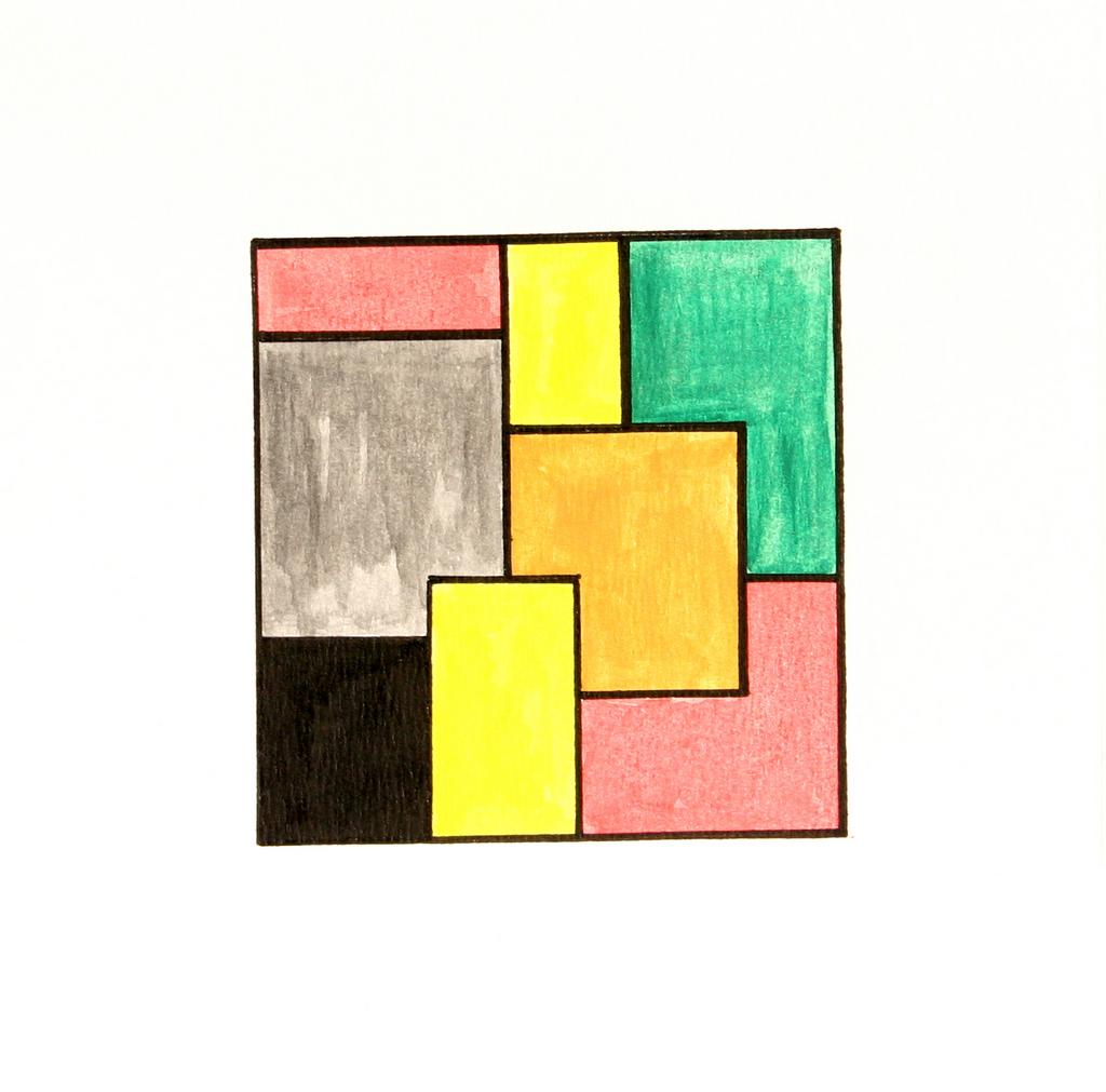 23x23 cm, papír, akril, 2003