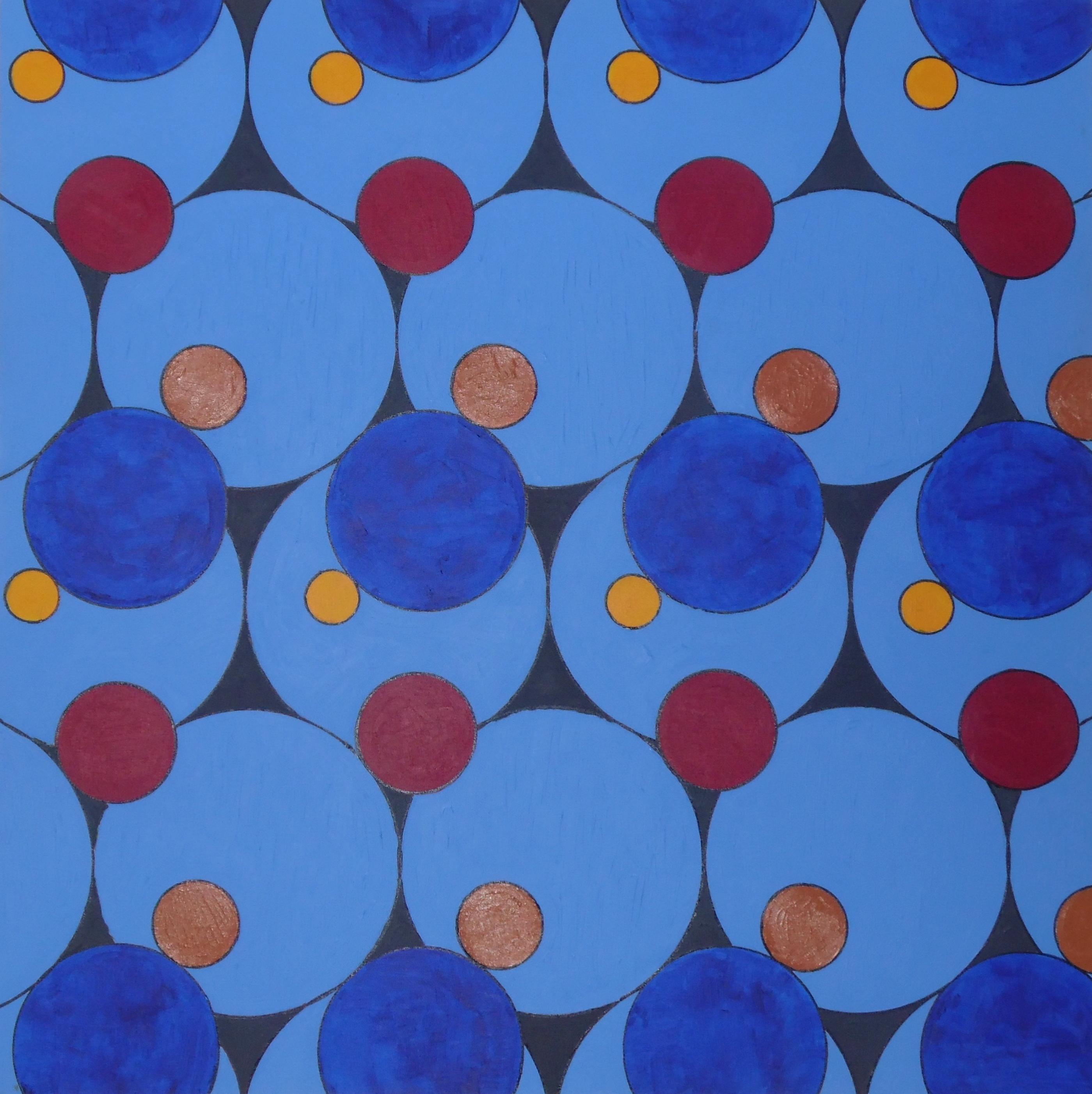 100x100 cm, akril, vászon, 2014