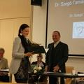 Dr. Szegő Tamás újságírói díjat kapott a Szájkóder blog írója!