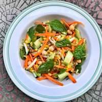 Kukoricás-avokádós saláta a kánikula jegyében