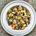 Gyümölcsös kuszkusz-saláta