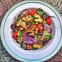 Hajdinás sültkarfiol-saláta
