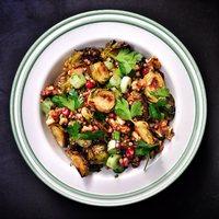 Hajdinás sült kelbimbó saláta