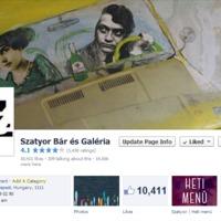 Szatyor Bár heti menü és hírek a Facebookon